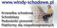 Windy Schodowe - urządzenia dźwigowe dla osób starszych i niepełnosprawnych